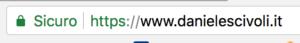 Affidati a siti Web sicuri