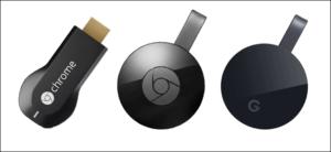 Aggiornamento di Chromecast