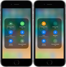 Attivazione Wi-Fi e Bluetooth su iPhone