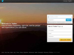 Elimina Account Twitter