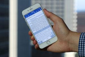 Eliminare un'interruzione di pagina smartphone e tablet