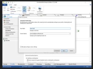 SmartSerialMail per windows